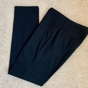NWOT Theory Wool Blend Straight Leg Ankle Trousers